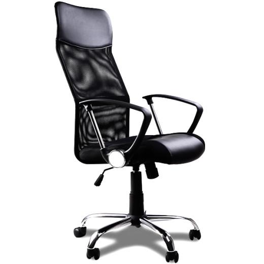 Bürostuhl in schwarz