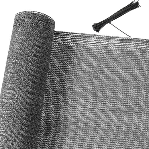 Balkonsichtschutz Anthrazit 1,4x10m