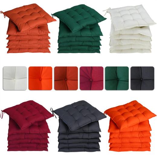 6er-Set Sitzkissen in 6 verschiedenen Farben