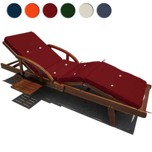 Cuscino per lettino sdraio Sunlounger 196x55x5cm