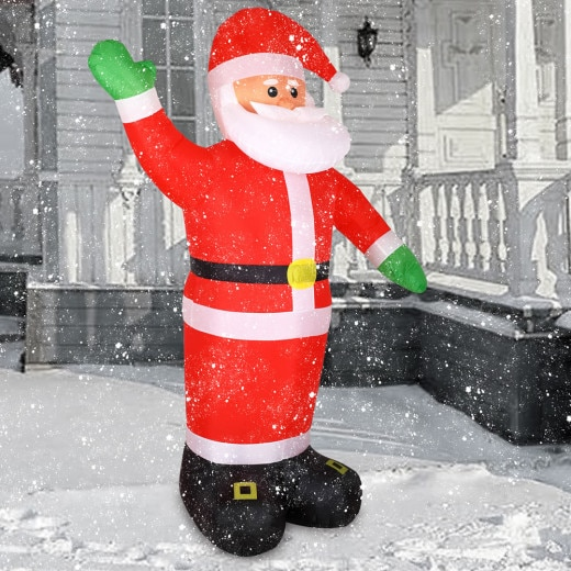 Aufblasbarer Weihnachtsmann XXL