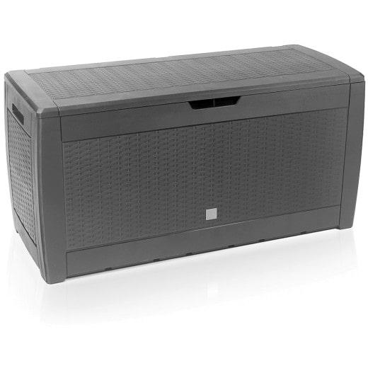 Auflagenbox Rato in Grau 119x48x60cm