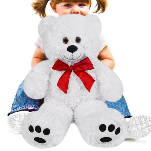 Plüschtier Teddybär L weiß