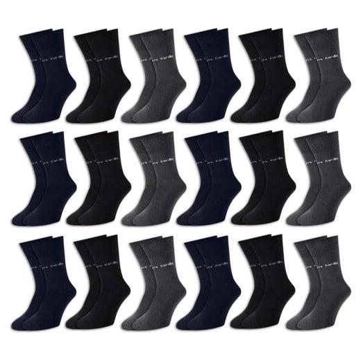 Pierre Cardin Socken 18er-Pack Farbmix Gr. 43-46