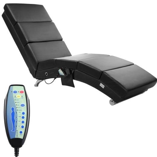 Massageliege in schwarz & Heizfunktion