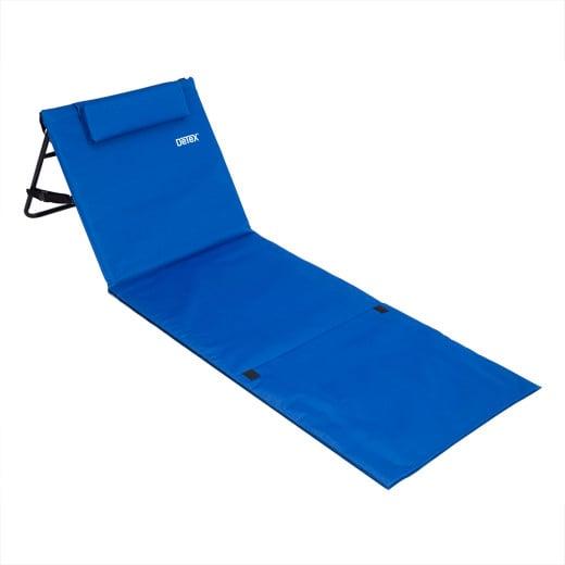 Tappetino da spiaggia blu 158 cm x 56cm
