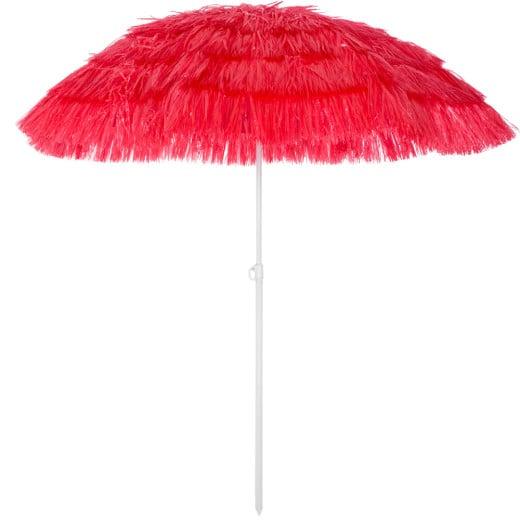 Ombrellone Hawaii rosso Ø160cm