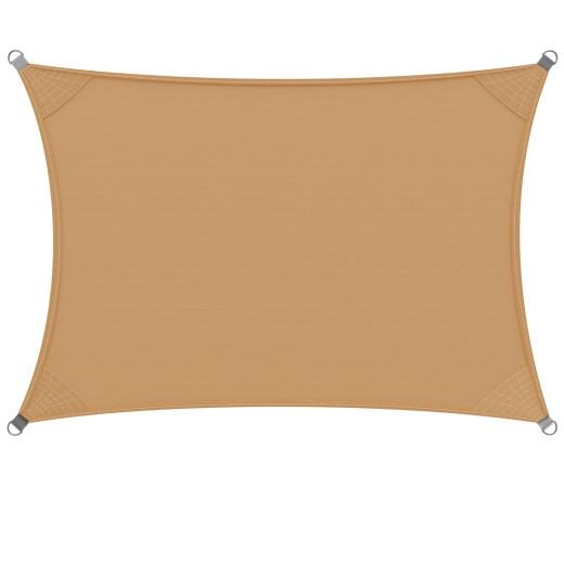 Tenda parasole Detex Oxford retangolare protezione solare UV50+ beige 3x4cm