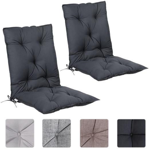 Set 2x Cuscini con schienale 116x57x7cm