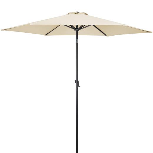 Ombrellone beige alluminio Ø300cm