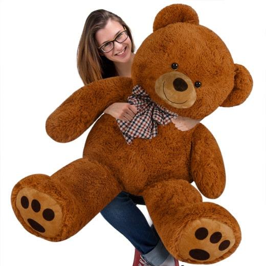 Plüschtier Teddybär XXL braun