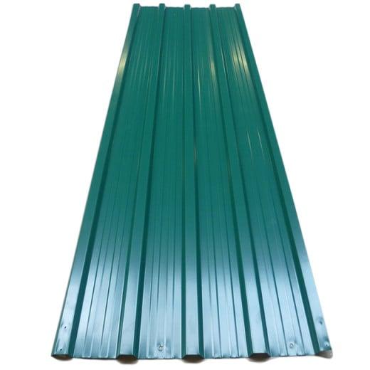 Set 12x Lamiera profilata verde 129x45cm