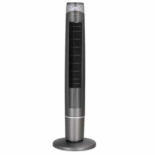 Turmventilator Grau 120cm inkl. Fernbedienung