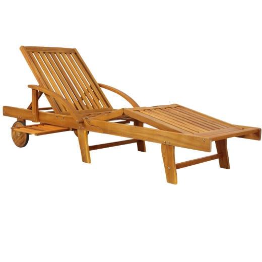 """Lettino """"Tami Sun"""" legno acacia"""