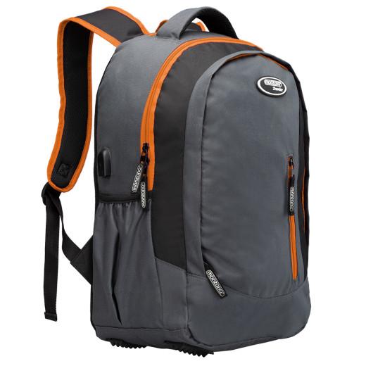 Zaino per notebook arancione 35L
