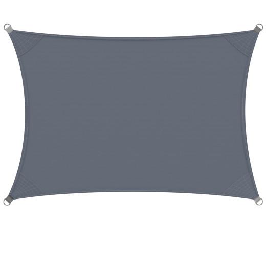 Tenda parasole Detex Oxford retangolare protezione solare UV50+ antracide 2x4cm