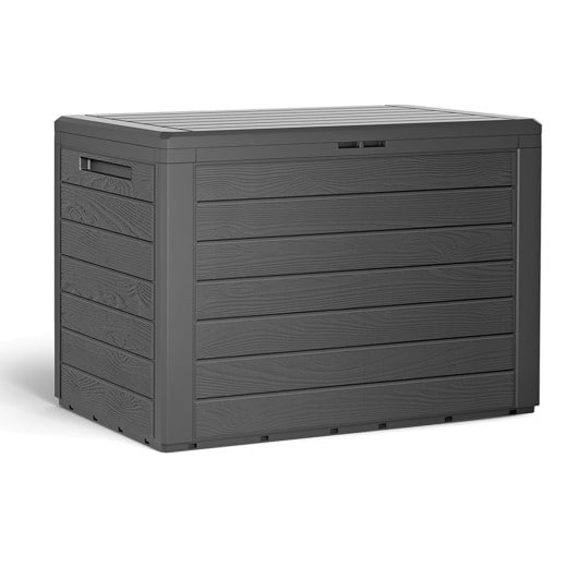 Auflagenbox Lille Anthrazit 78x43,8x55cm